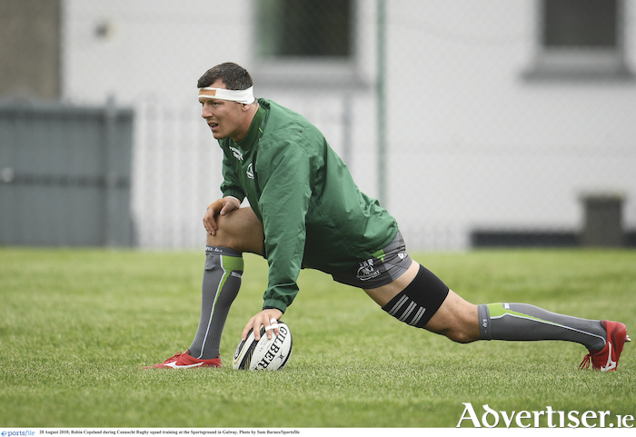 Connacht No 8 Robin Copeland is a likely starter against the Scarlets after playing for the Eagles last weekend.