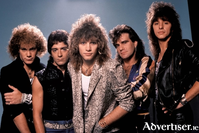 Bon Jovi in the 1980s.