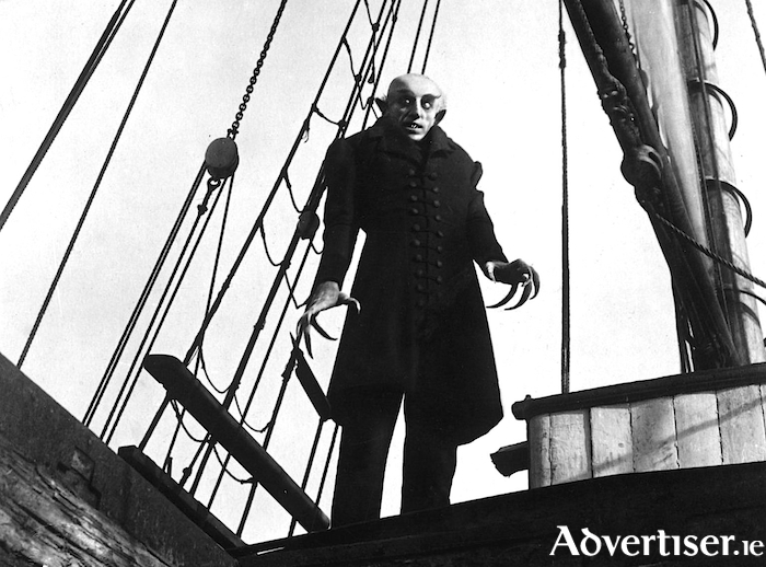 He's coming to get you! Nosferatu will be providing the scares at the Baboró festival this month.
