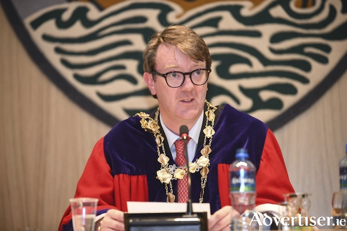 The Mayor of Galway, Cllr Niall McNelis.