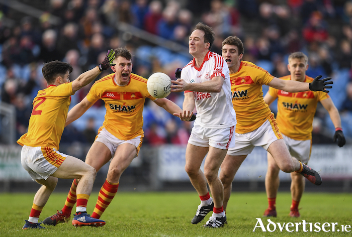 Match of the day: The meeting of Castlebar Mitchels and Ballintubber on Saturday night should be an enthralling encounter. Photo: Sportsfile.