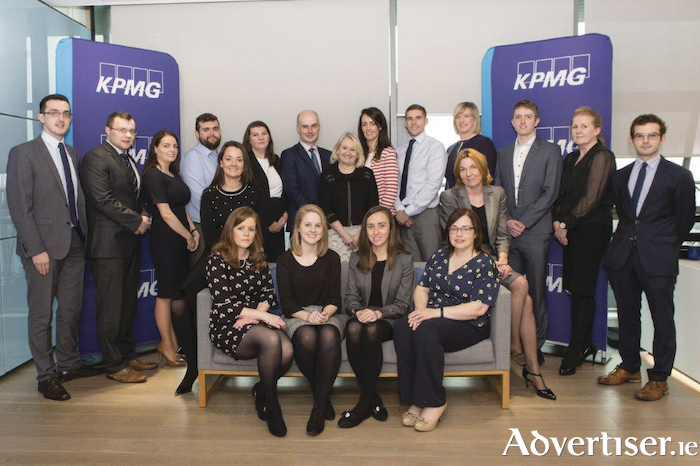 The KPMG Galway tax team.