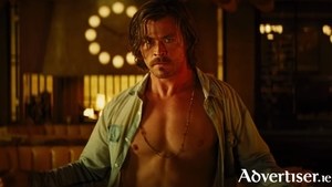 Chris Hemsworth in Bad Times At The El Royale.