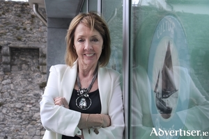 Presidential candidate Joan Freeman. Photo:- Mike Shaughnessy