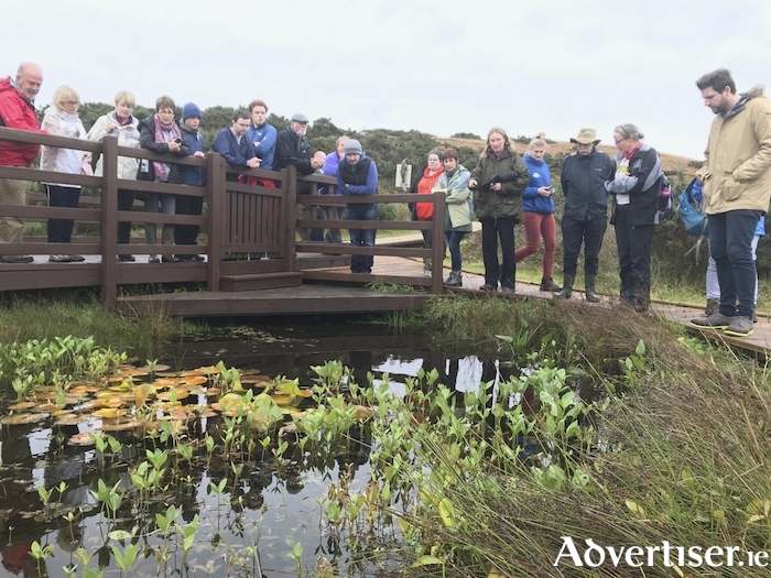 The Irish Uplands Forum conference took a filed trip to the Ballycroy National Park.