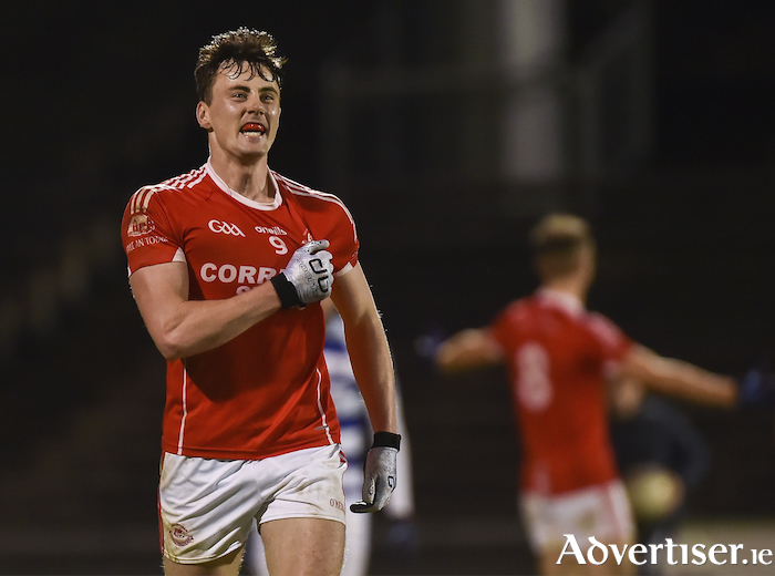Winning feeling: Diarmuid O'Connor celebrates at full time. Photo: Sportsfile