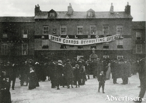 The Royal Hotel, Eyre Square, was the recruitment office in Galway for The Irish Guards. Photo courtesy of Tom Kenny