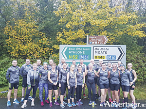 Members of the Moate Athlone Running Group will will run in the Dublin City marathon on Sunday