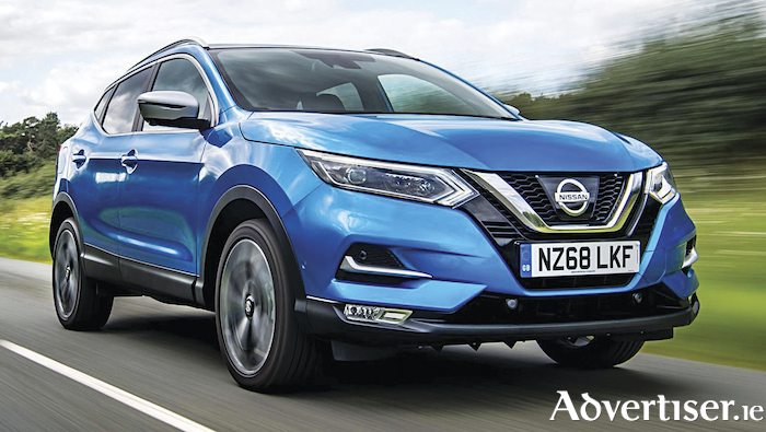 Nissan Qashqai - best seller in Ireland.