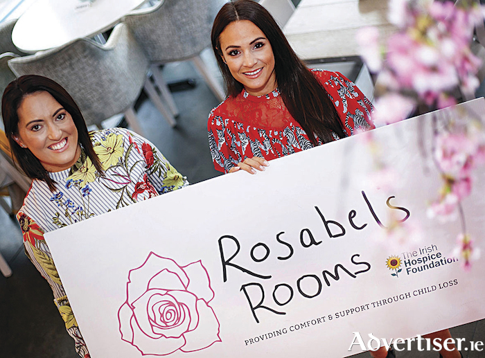 Owner of Caprice Café, Vicky Casey, with Lora Carroll, manager of Willow Boutique, Galway, getting ready for 'A Fashion Fairytale for Rosabel's Rooms' a fundraising event for Rosabel's Rooms, in collaboration with The Irish Hospice Foundation which takes place at Caprice Café on November 7.  Photo: John Walsh