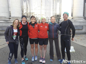 GCH athletes who competed in the Dublin Marathon were Lorraine Naughton, Tara Whyte. Michelle Egan Browne, Imelda Gormally, Grainne Ni Uallachain, and Danny Carr.