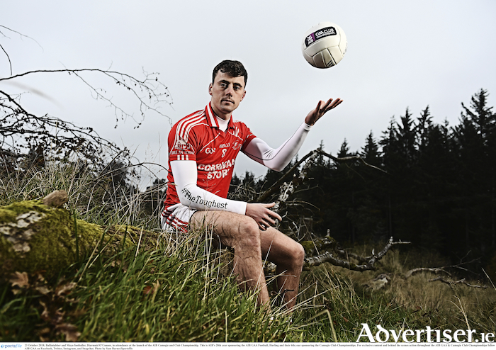 Ready for the next step: Diarmuid O'Connor is ready to lead Ballintubber into provincial championship action on Sunday. Photo: Sportsfile.
