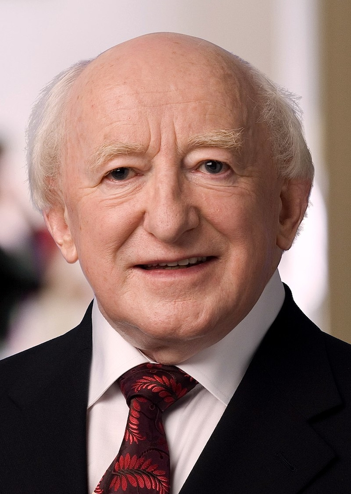 President Higgins topped the poll in Mayo