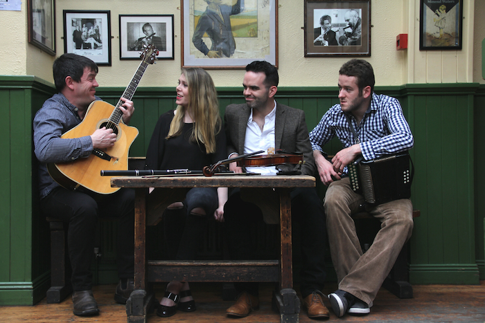 Innovative and highly energetic Trad/Folk: Blás performs at the Linenhall Arts Centre on Thursday November 29 at 8pm.