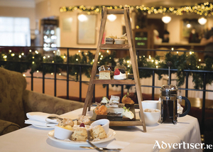 Festive afternoon tea at The Ardilaun, photo by Sita O'Driscoll Photography.