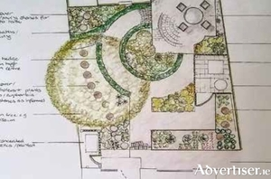 The layout of your garden should enhance your home.