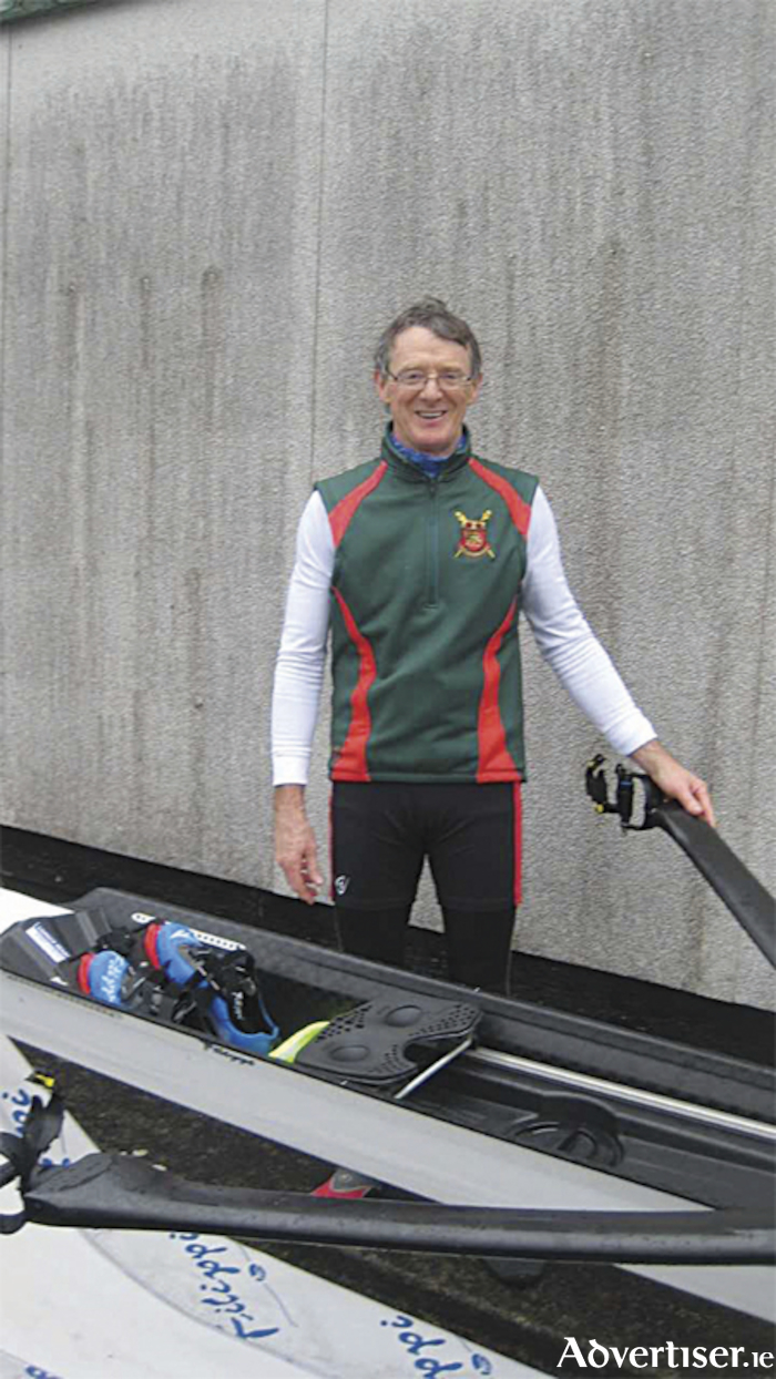 Athlone Boat Club stalwart, Paul Gallen, pictured at Carrick Head