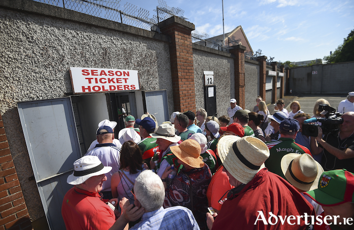 It all ended in Newbridge this year, next year we will be hoping that Mayo get back to the top table. Photo: Sportsfile