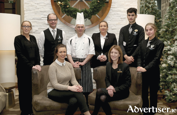 The team at the awardwinning Loiughrea Hotel and Spa