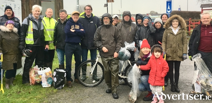 Dozens of community volunteers as well a number of councillors and Mayor Niall McNelis undertook a great clean-up of Terryland Forest Park last Saturday which showed the urgent need for Galway city to follow the example of Dublin in establishing a Parks Rangers unit.