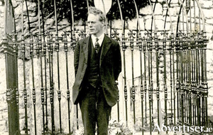 Galway's 1916 Rising leader Liam Mellows, elected MP for East Galway in 1918. Tragically he would be executed during the Civil War.