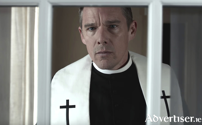 Ethan Hawke in First Reformed.