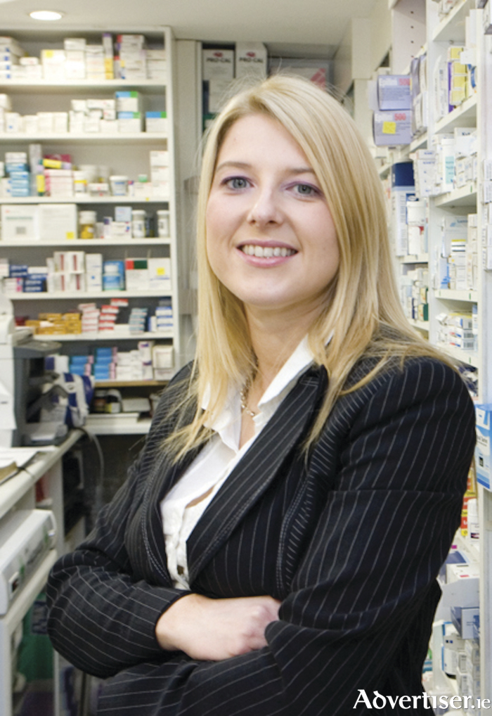 Pharmacist Audrey Kinahan of University Late Night Pharmacy.