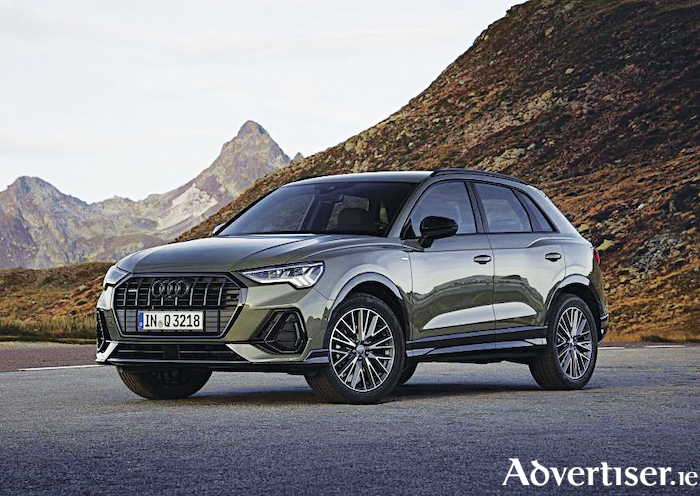 The second generation Audi Q3.