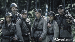 A scene from the acclaimed Finnish film, Unknown Soldier, which is screening at the Subtitle film festival in the Town Hall Theatre.