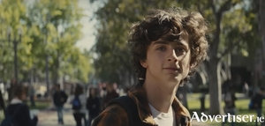 Timothee Chalamet in Beautiful Boy.