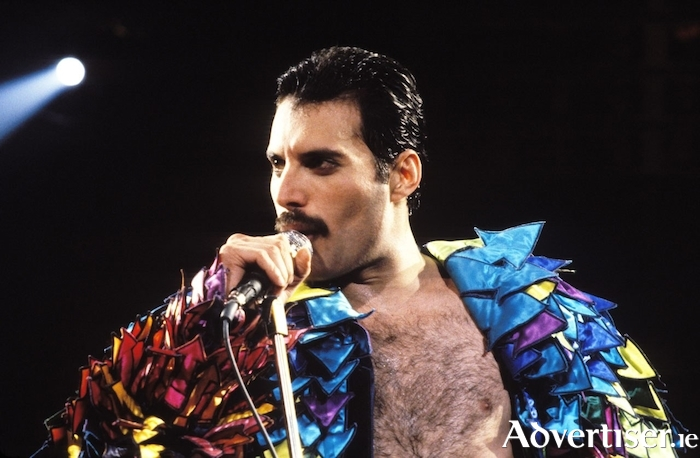 Irreplaceable and utterly unique: the late, and very great Freddie Mercury.