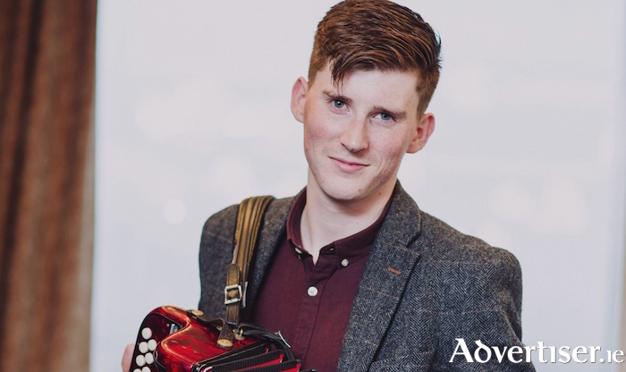 Accordionist Conor Connolly.