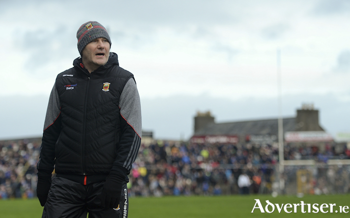 Moving on to the next challenge: Mayo and James Horan are ramping up their preparations for the arrival of Roscommon on Saturday week and the start of the National Football League. Photo: Sportsfile.
