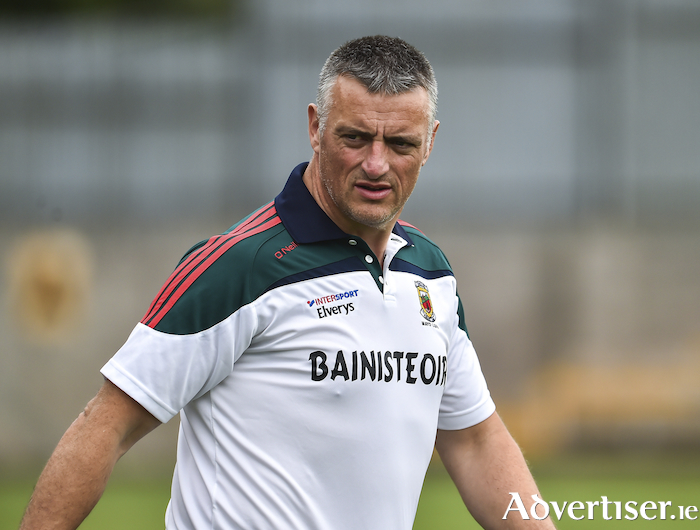 Mayo ladies manager Peter Leahy is getting ready for the new season. Photo: Sportsfile