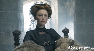 Saorise Ronan as Mary Queen of Scots. Photo:- Liam Daniel / Focus Features