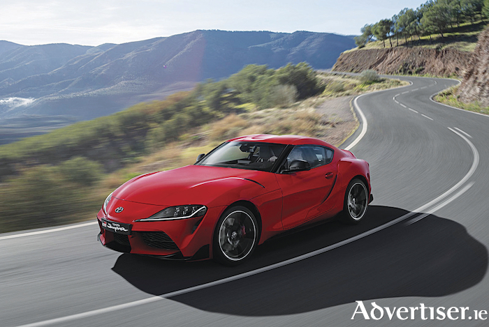 Stunning new Toyota Supra is on the way.
