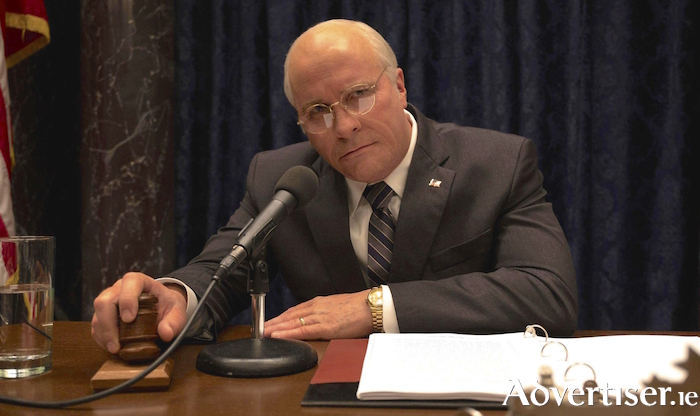 Christian Bale as Dick Cheney.