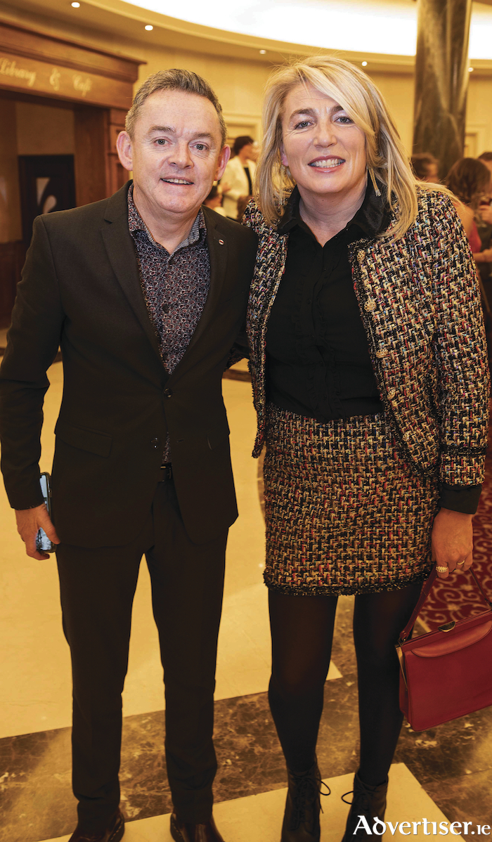 Paul and Mary Grealish at the Gorta Self Help Africa Annual Ball organized by Ronan Scully, from Gorta Self Help Africa, held at the Galway Bay Hotel,. Photo:Andrew Downes, Xposure