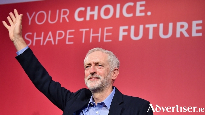British Labour leader Jeremy Corbyn. Photo:- Jeff J Mitchell