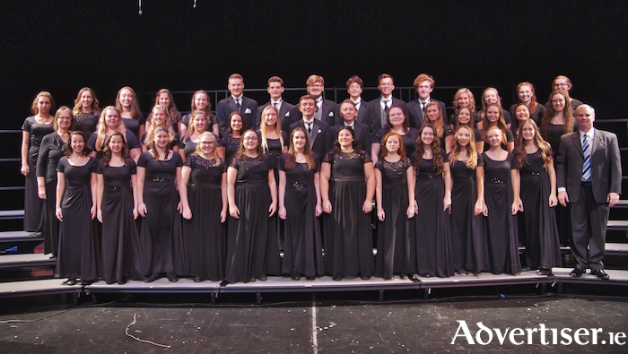 Michigan's Oxford High School Choir.