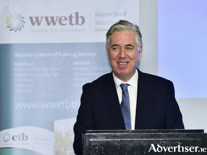 FAI CEO John Delaney will be the guest speaker at the ball. Photo: Sportsfile