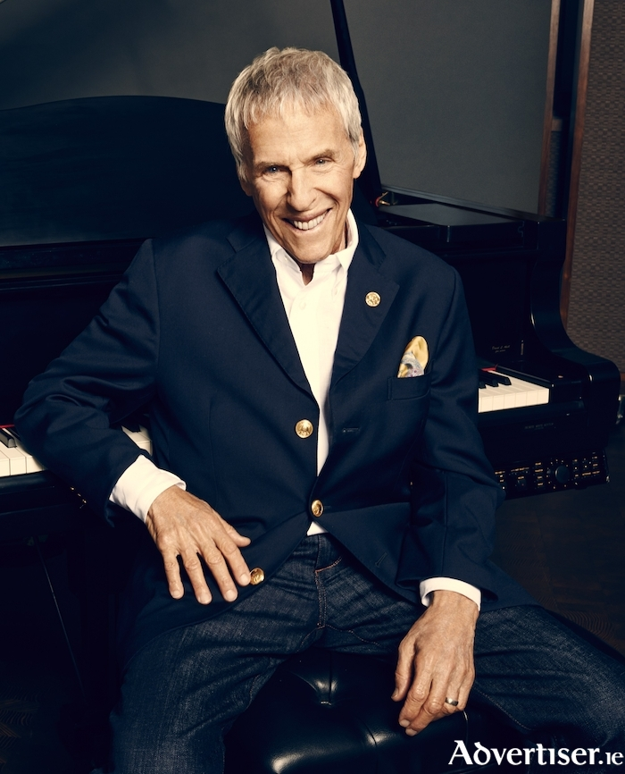 Burt Bacharach — playing Galway this July.