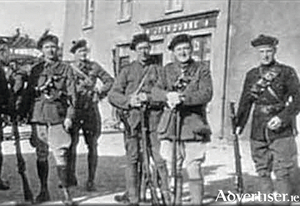 Black and Tans in Galway 1921