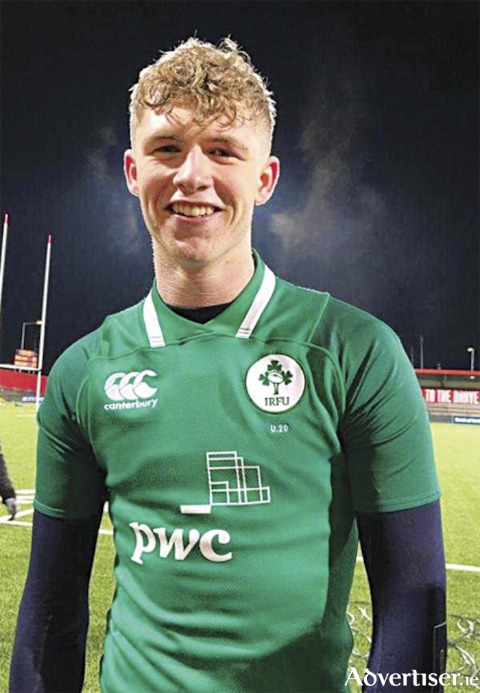 Buccaneers clubman Niall Murray who performed admirably from his lock position for Ireland U20s in their victory over Scotland on Friday night