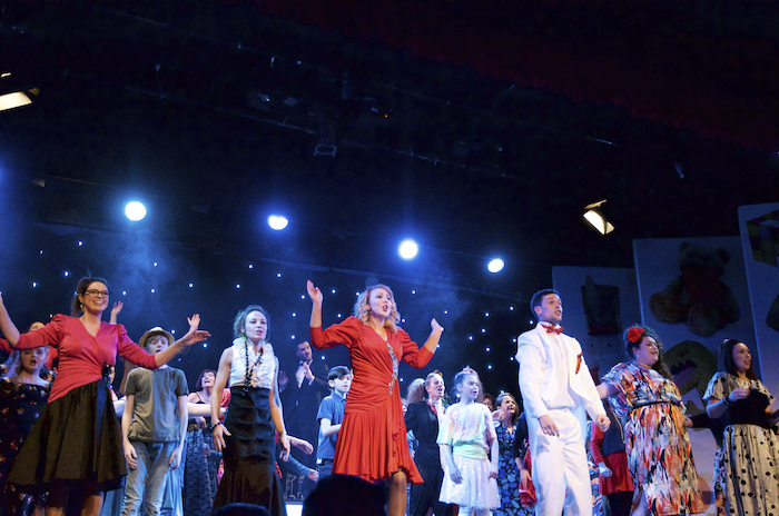 Claremorris Musical Society's show BIG at Claremorris Town Hall Theatre. Photo: Alison Laredo.