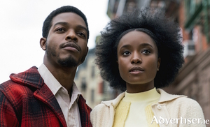 Kiki Layne (Tish) and Stephen James (Fonny) in If Beale Street Could Talk.