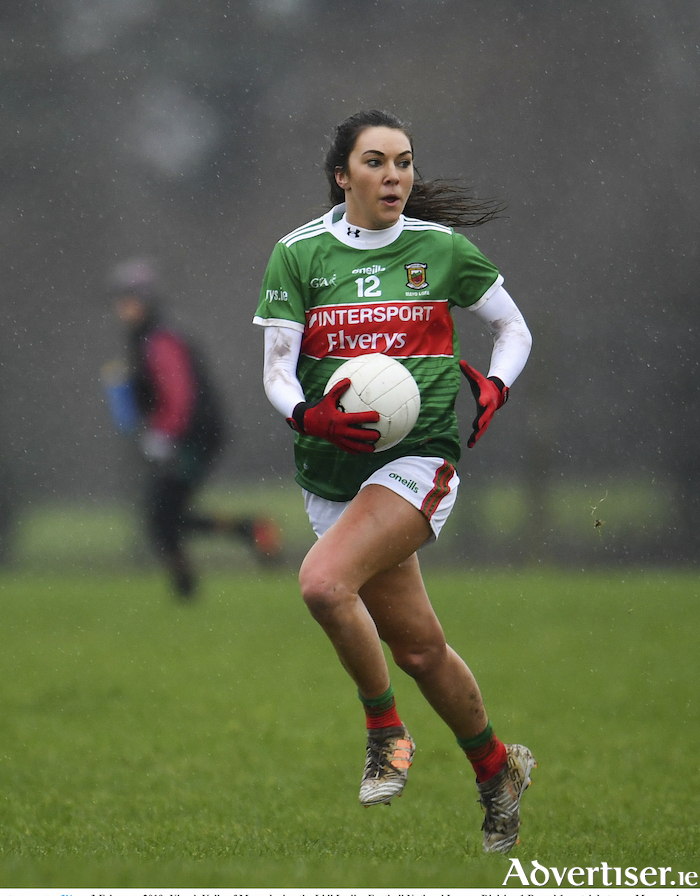 On the run: Mayo's Niamh Kelly in action in Mayo's opening league encounter against Tipperary last month. Photo: Sportsfile.
