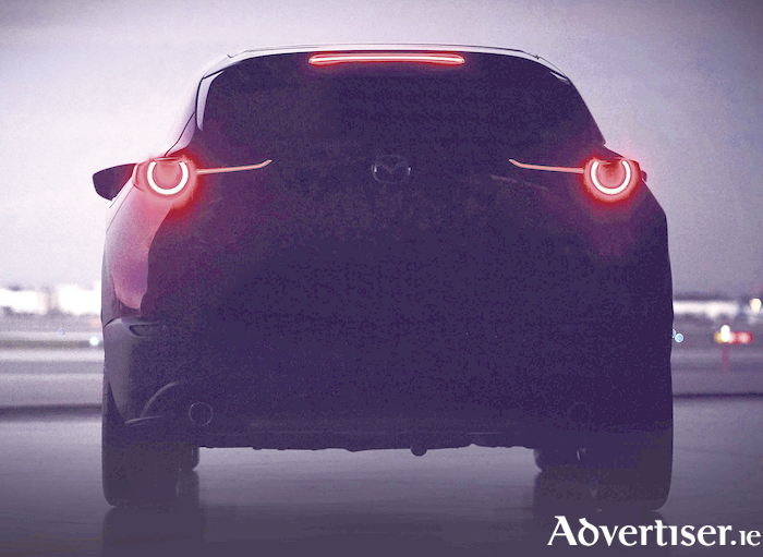 A glimpse of what the new Mazda SUV will look like.