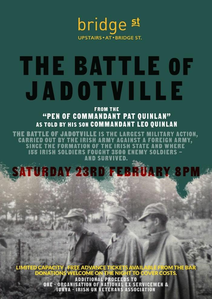 Advertiser ie - Presentation of The Battle of Jadotville in