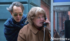 Melissa McCarthy and Richard E Grant in Can You Ever Forgive Me.